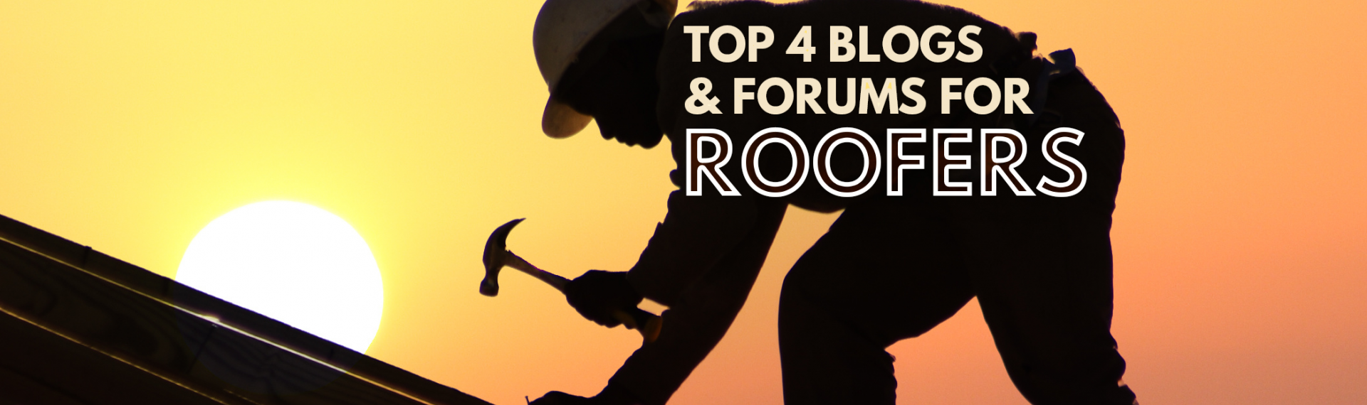 Getting Clued Up: The Top 4 Blogs & Forums Roofers Need To Know About