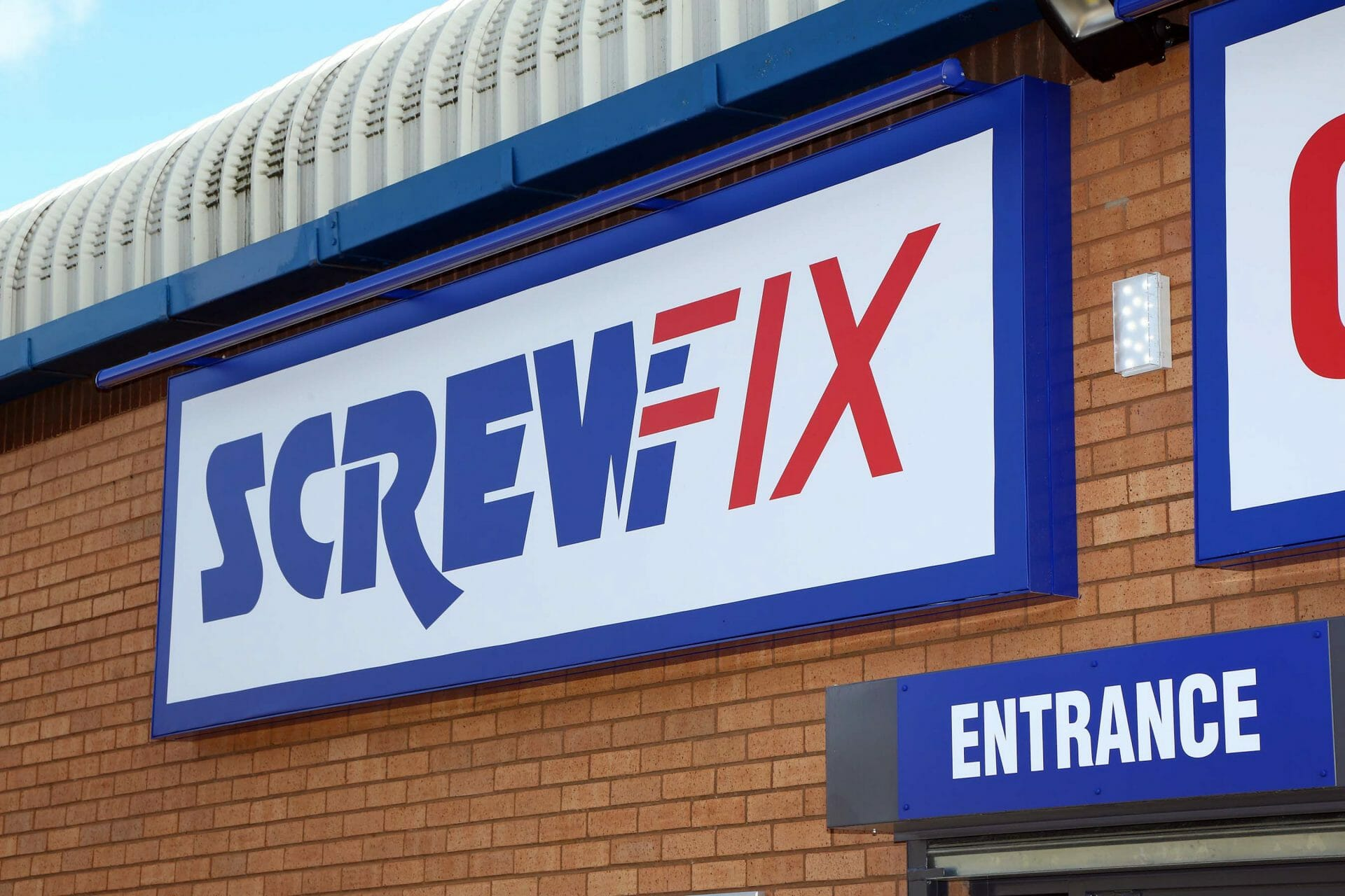 Screwfix store front
