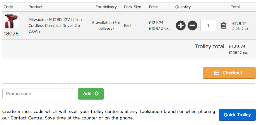 Toolstation Promo Code