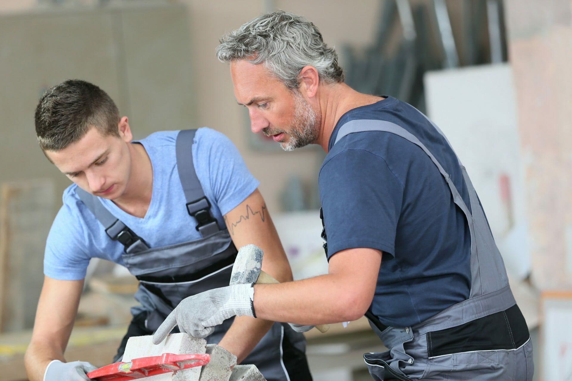 tradesman apprentice