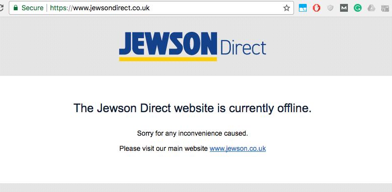 Jewsondirect offline