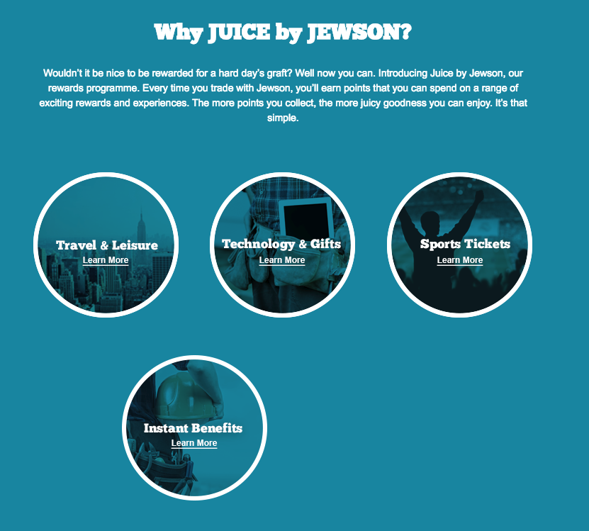 juice by jewson rewards