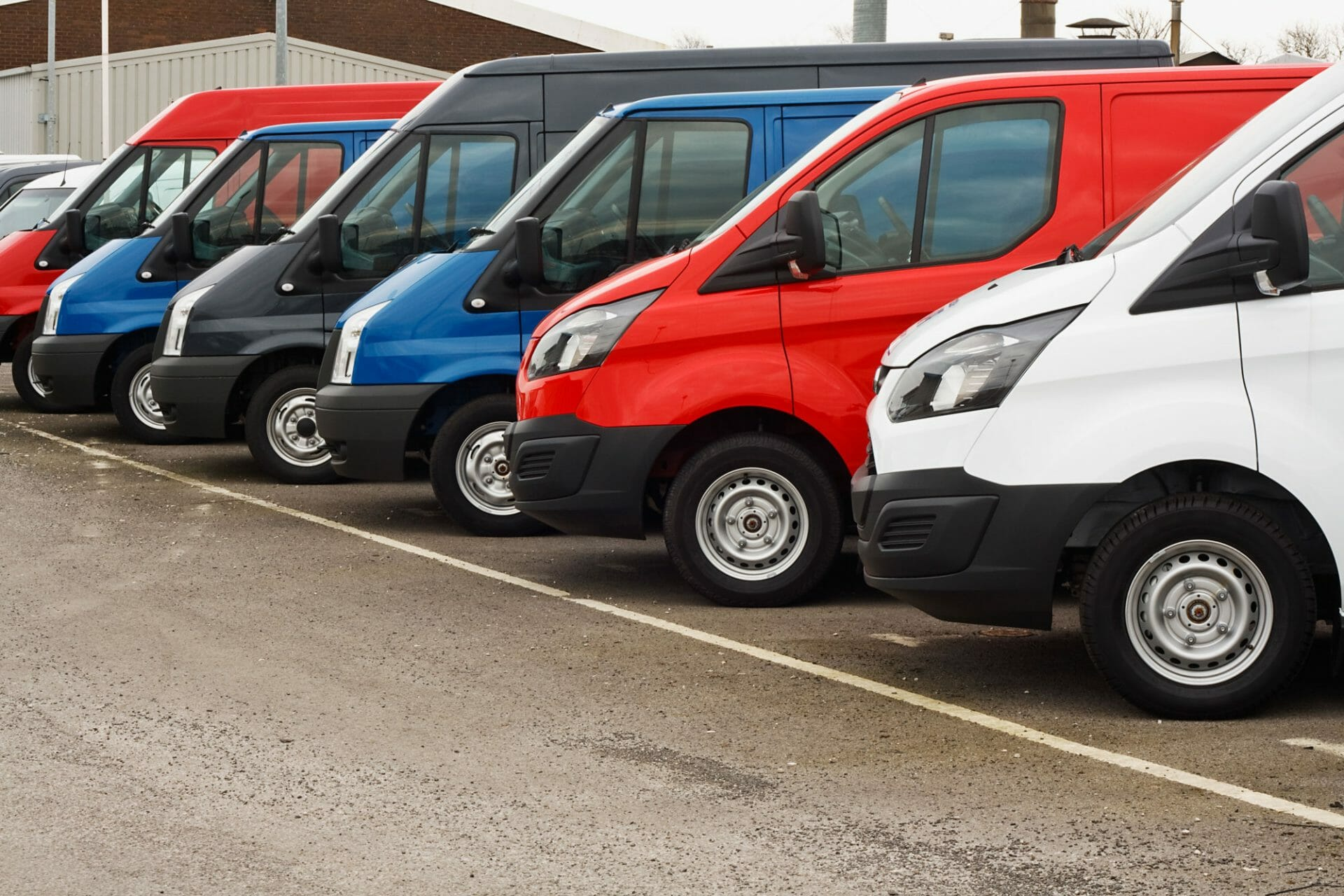 buying or leasing a van