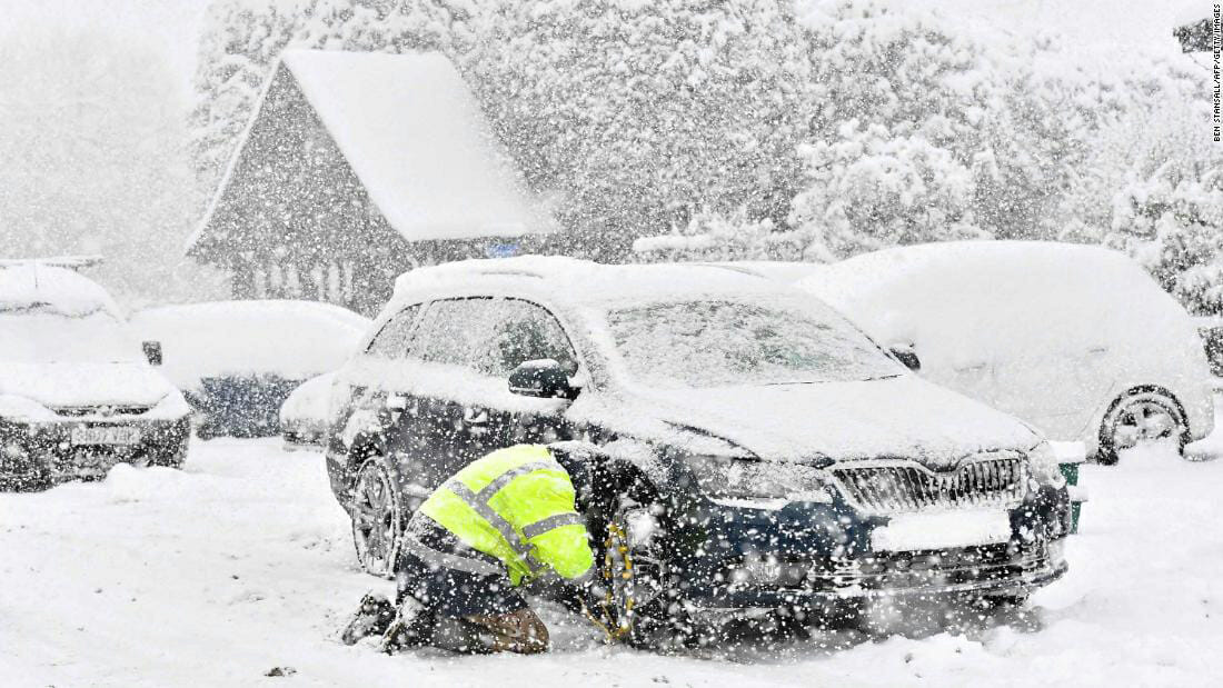 beast from the east storm emma tradesman safety tips