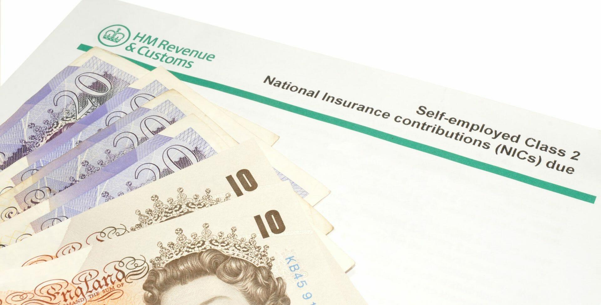 self-employed national insurance