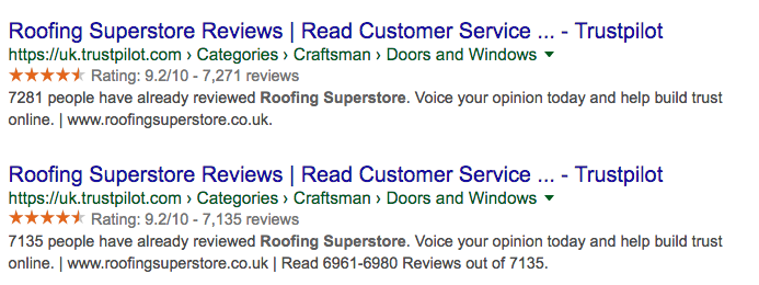 Roofing Superstore reviews