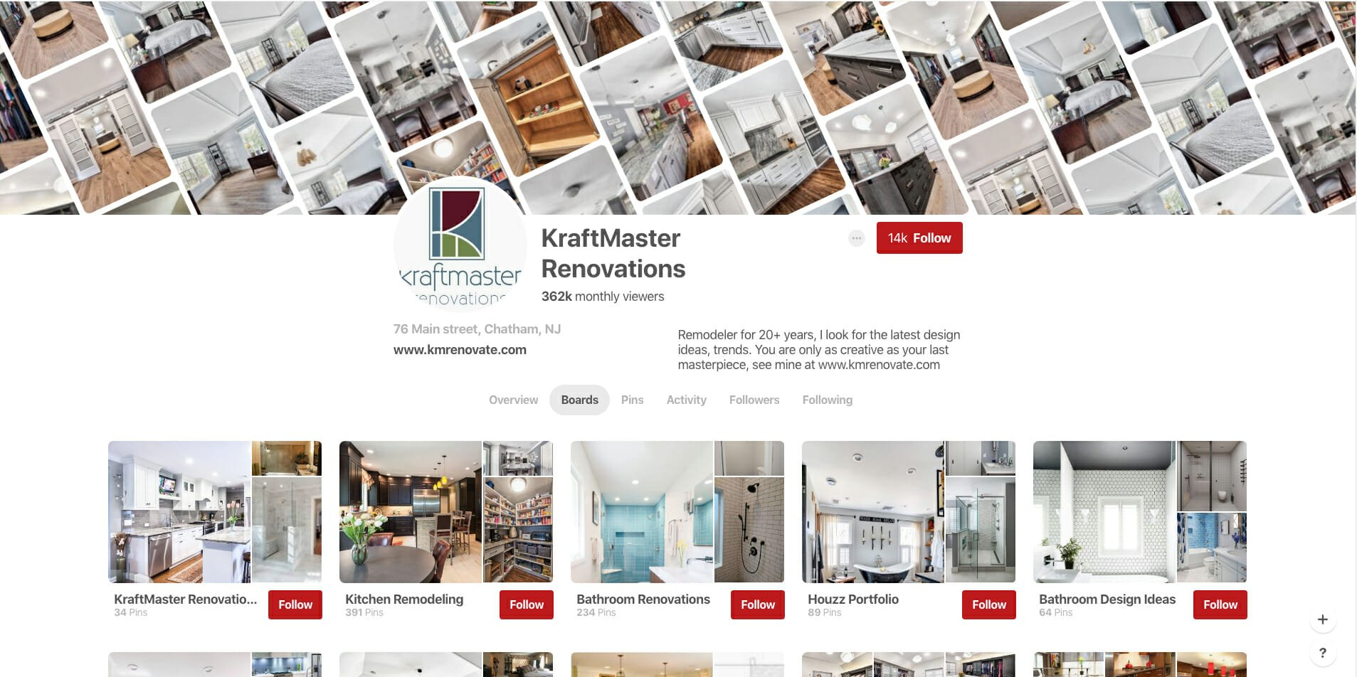 pinterest marketing online tradesman