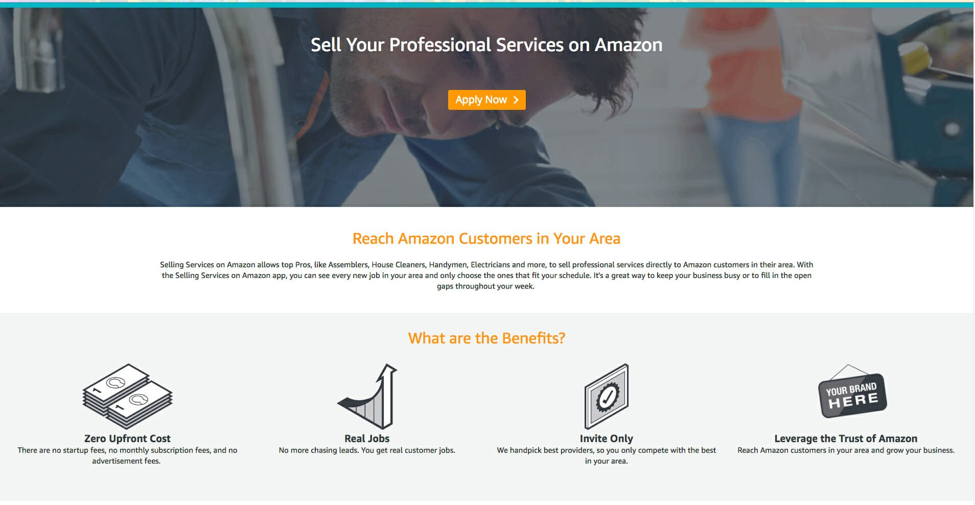 amazon selling services