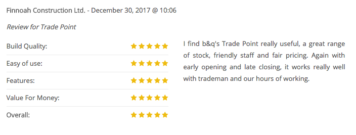TradePoint positive review