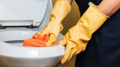 What are the biggest safety risks for professional cleaners?