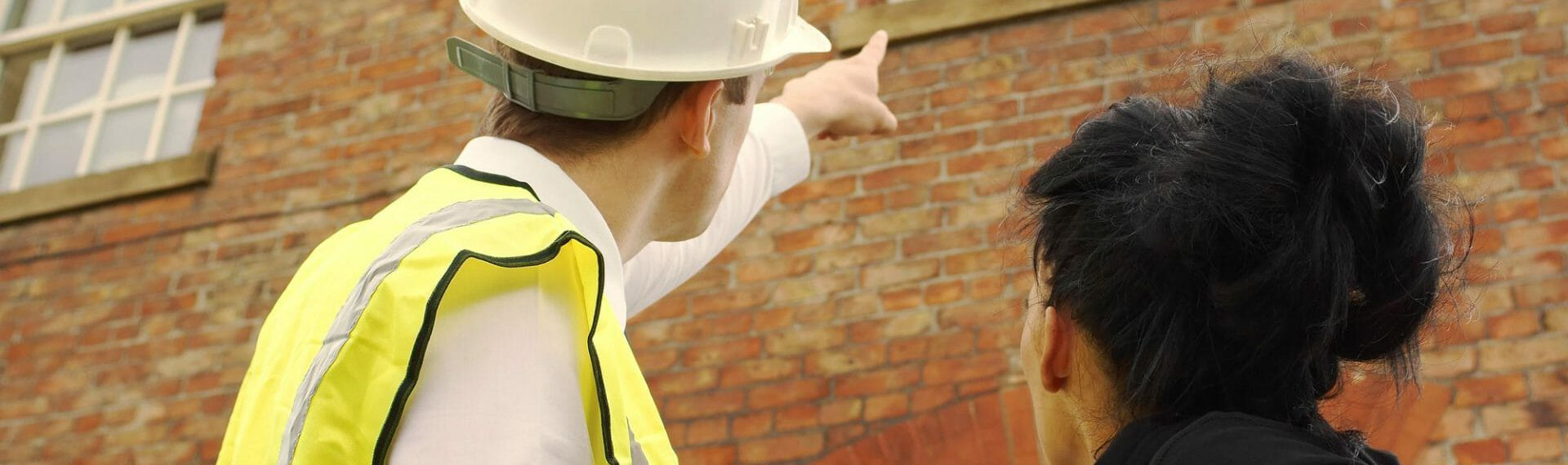 property maintenance expert advising customer