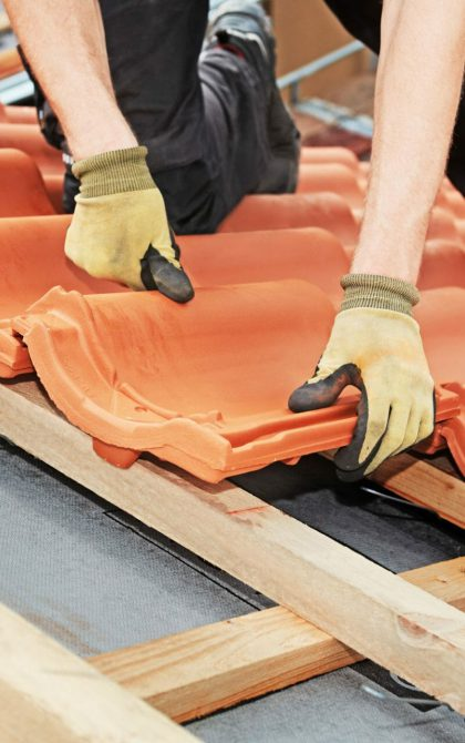 roofers laying roof, public liability insurance