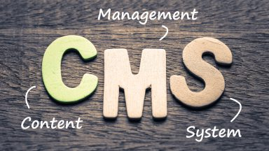 Which CMS should tradesmen use for their website?